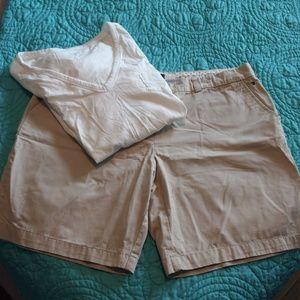 Tommy Hilfiger Khaki Shorts